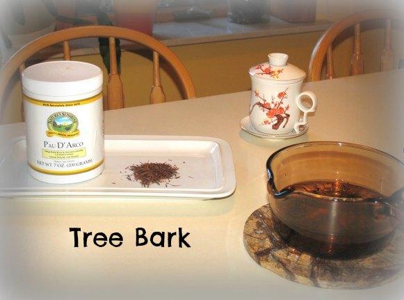 Pau D'Arco tea from tree bark